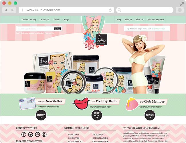 7 Contoh Desain Untuk Inspirasi Toko Online