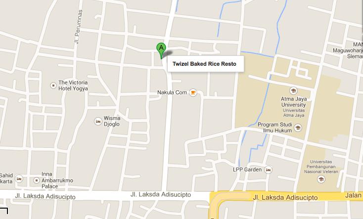 map twizel