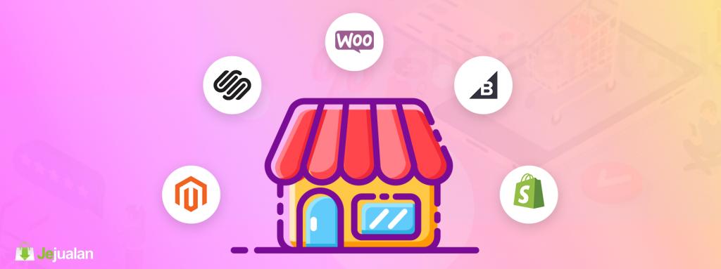 platform bisnis e-commerce