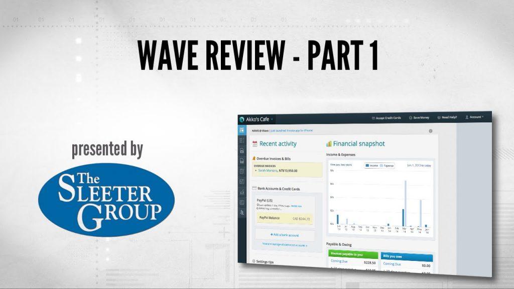 Software akuntansi Wave