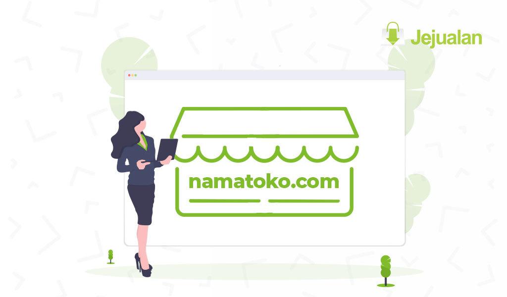 memilih nama toko online