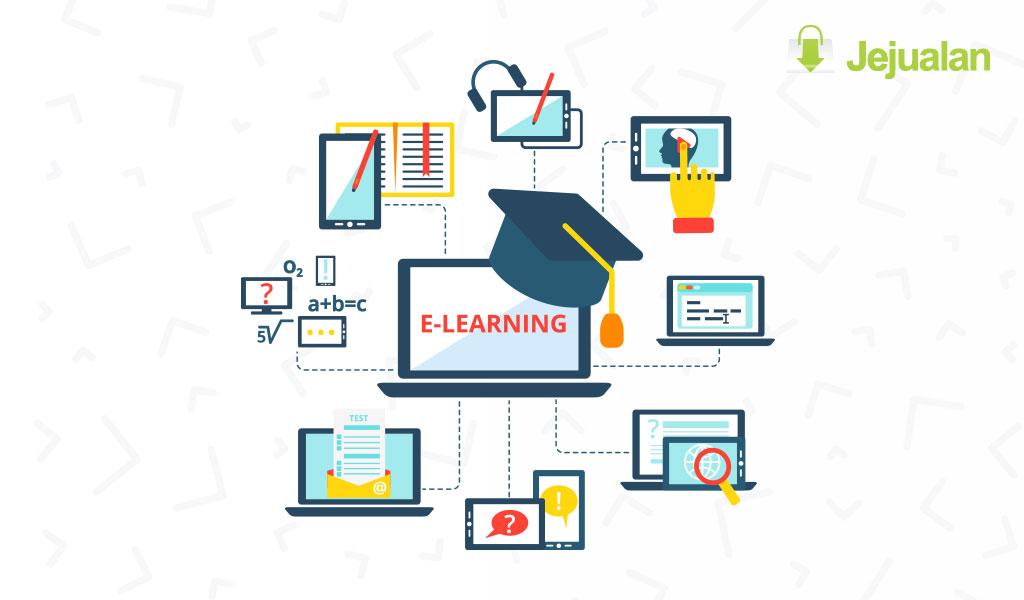 template website kursus online
